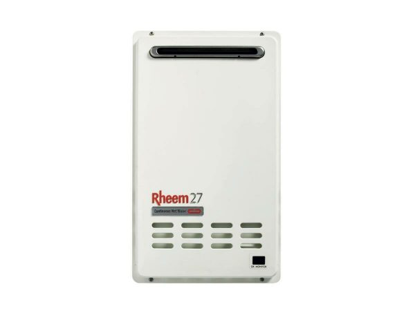 Rheem 27L Natural Gas 60 Degree Continuous Flow Hot Water System