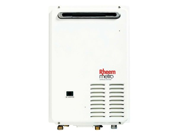 Rheem Metro 16L Natural Gas 50 Degree Continuous Flow Hot Water System