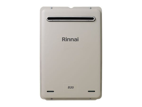 Rinnai Builders B20 Natural Gas 60 Degree Continuous Flow Hot Water System