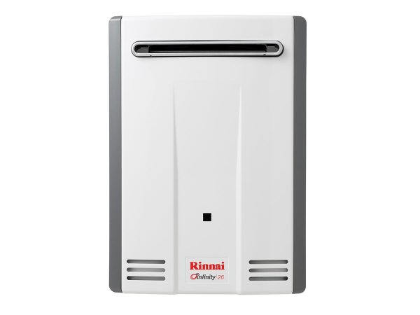 Rinnai Infinity White 26L Natural Gas 60 Degree Continuous Flow Hot Water System