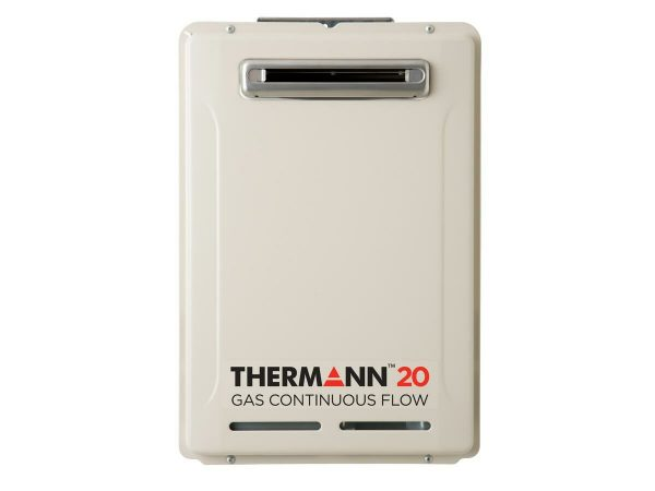 Thermann 6 Star 20L Natural Gas 50 Degree Continuous Flow Hot Water System