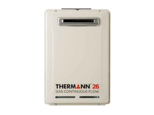 Thermann 6 Star 26L Natural Gas 50 Degree Continuous Flow Hot Water System